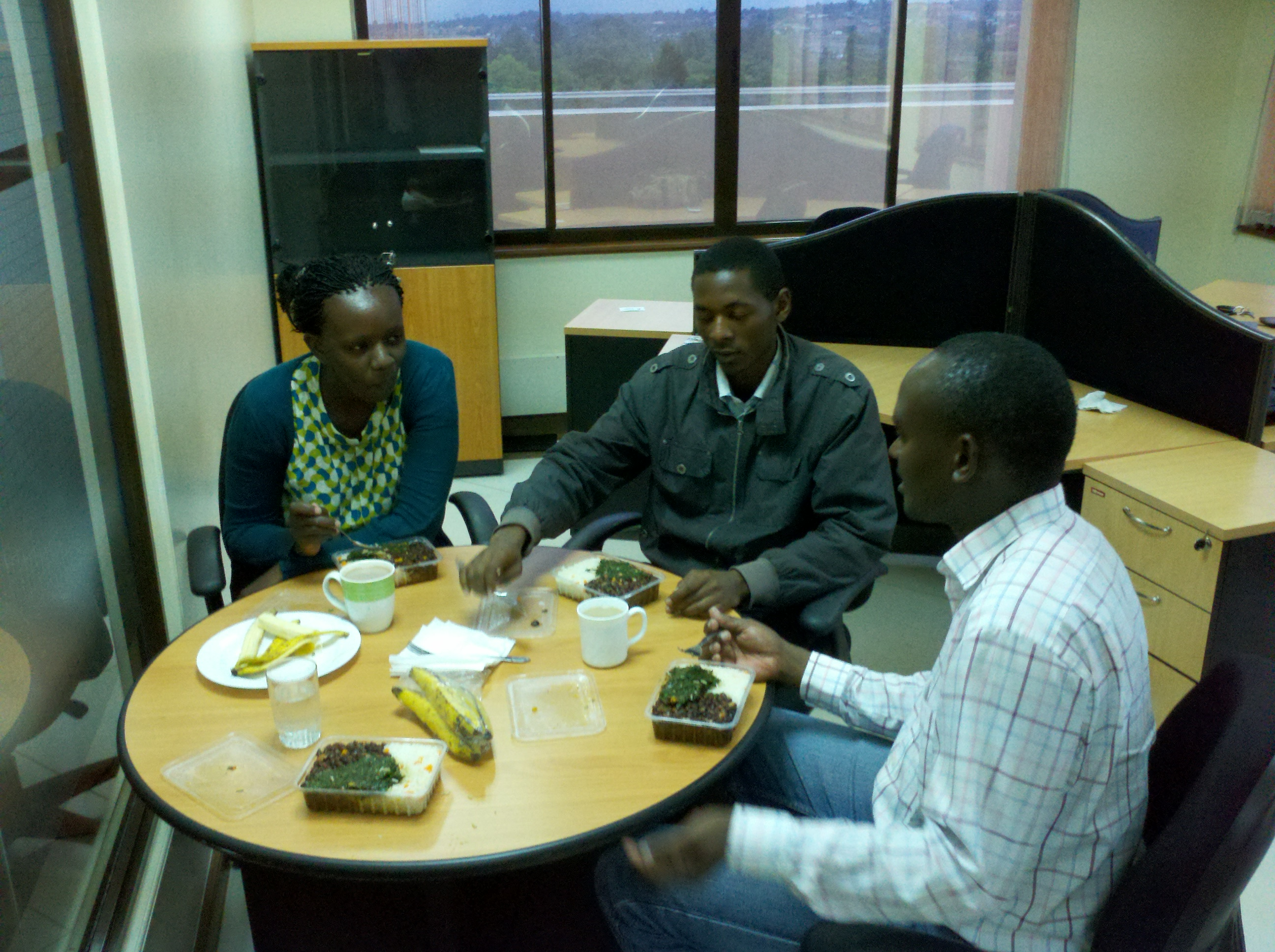 Kenyan-office-lunch