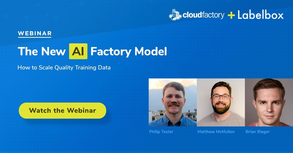 The New AI Factory Model: How to Scale Quality Training Data