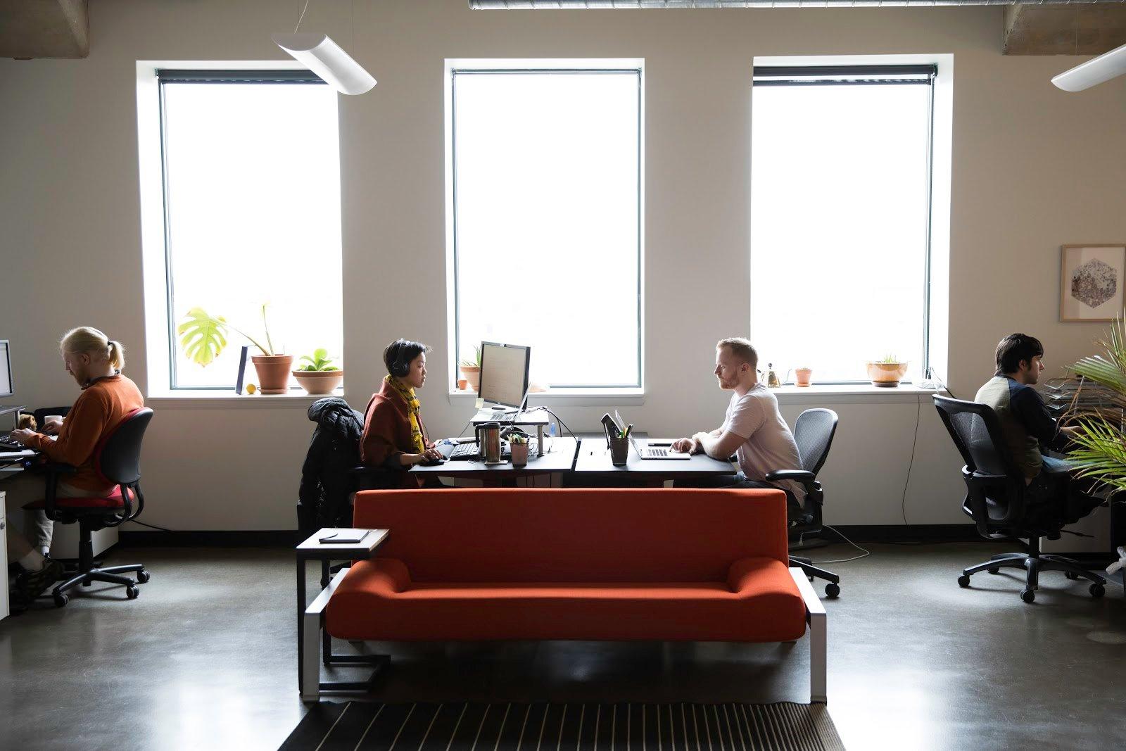 Azavea's office in Philadelphia