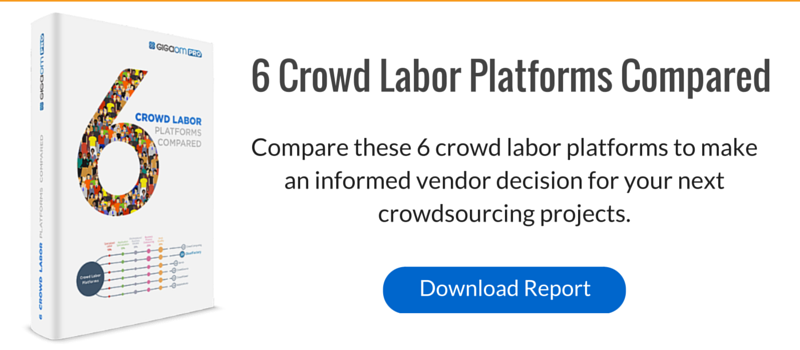 Download the GigaOm PRO report to make an informed vendor decision for your next crowdsourcing projects.