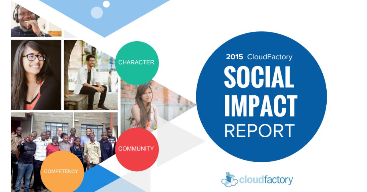 CloudFactory Social Impact Report 2015