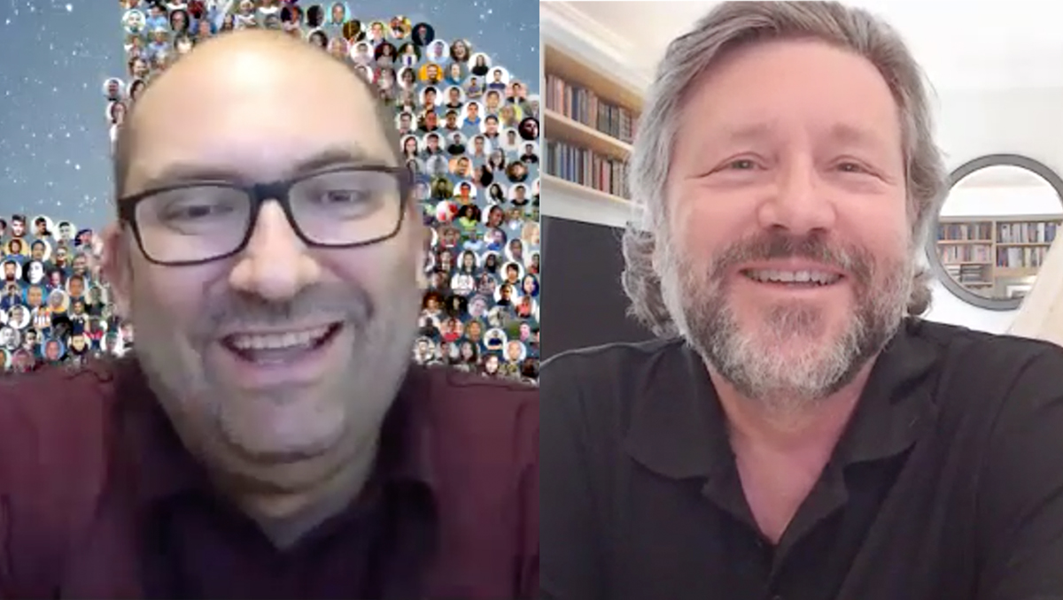 CEO Mark Sears Interviews New CloudFactory Board Member John Cotterell