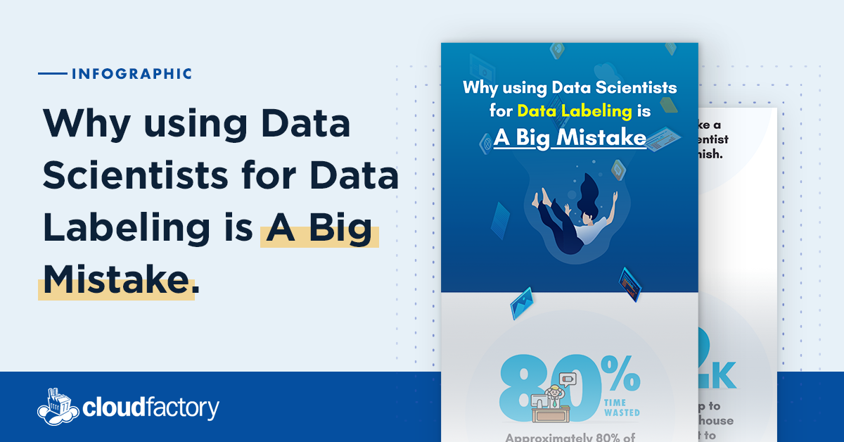 Why Using Data Scientists for Data Labeling is a Big Mistake [Infographic]