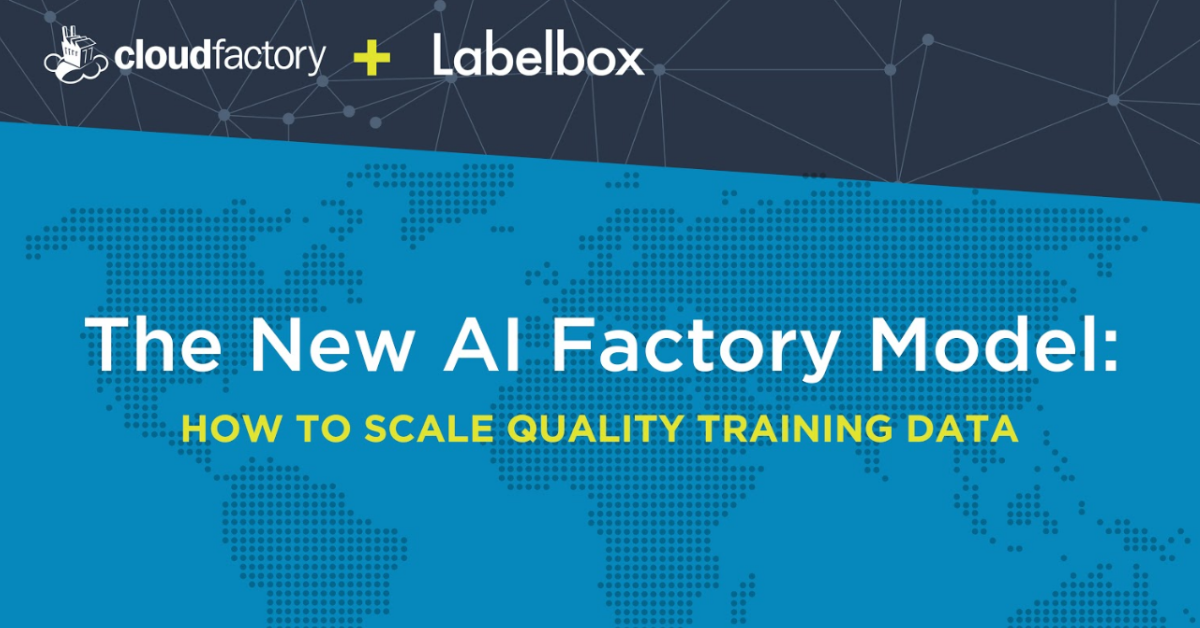 The New AI Factory Model, Part I: How to Scale Quality Training Data [Transcript]
