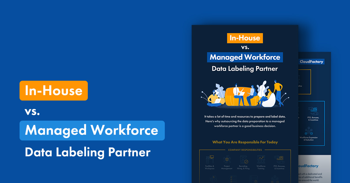 In-House vs. Managed Workforce Data Labeling Partner [Infographic]