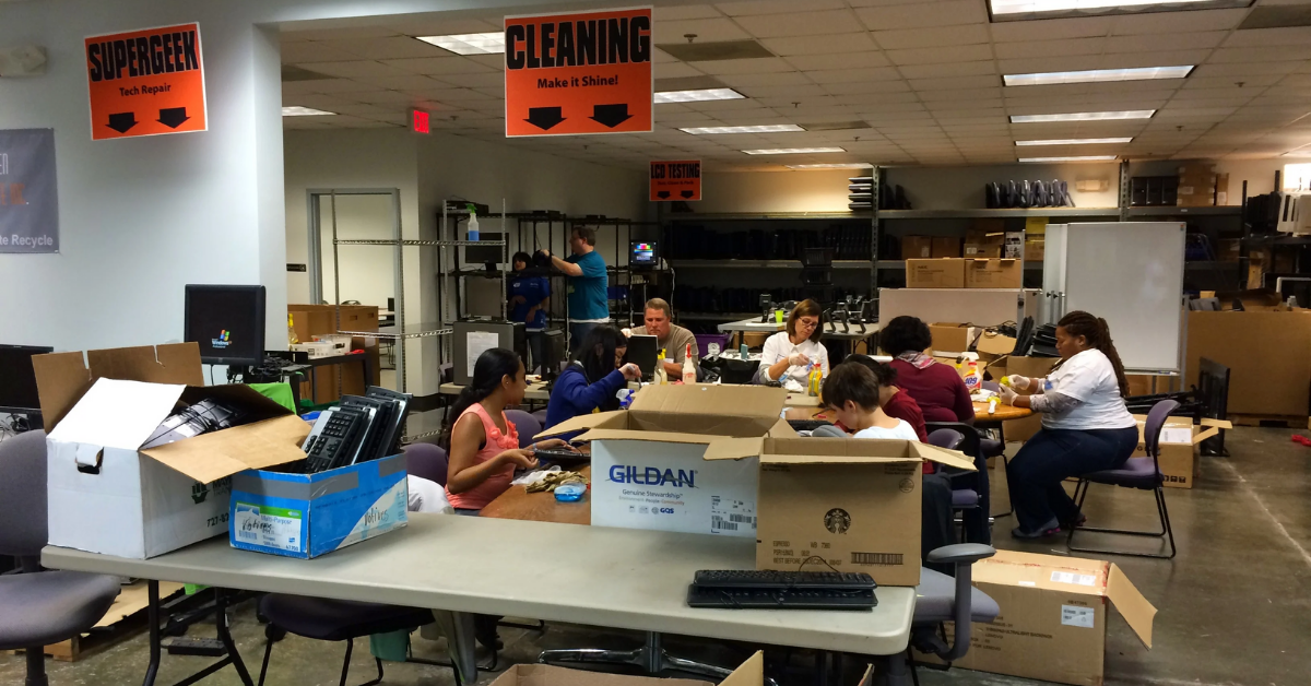 Service Project at the Kramden Institute: Parallels in Hyper-Efficiency