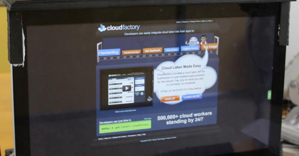 CloudFactory launches at Techcrunch Disrupt SF