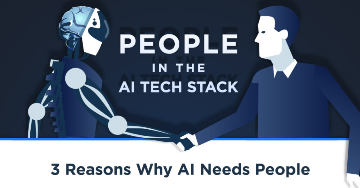 People in the AI Tech Stack [Infographic]