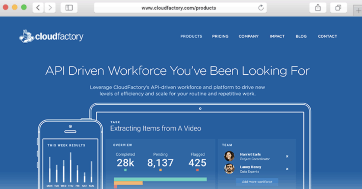 Introducing CloudFactory's On-Demand Workforce Platform