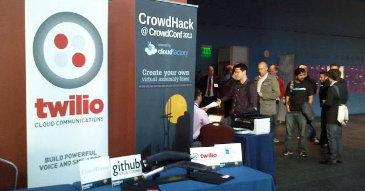 Twilio sponsoring CrowdHack - let the real hacking begin!