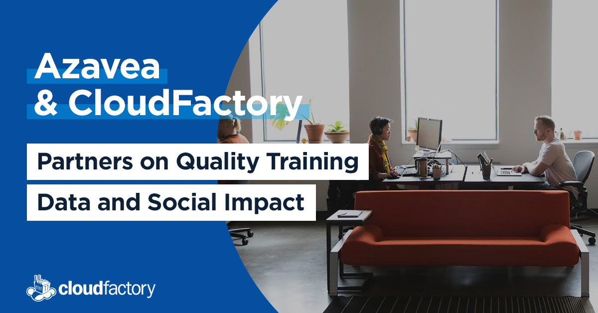 Azavea and CloudFactory: Partners on Quality Training Data and Social Impact